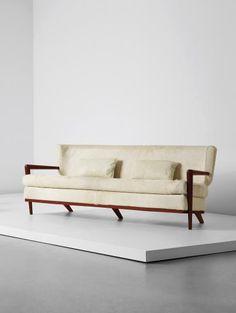 PHILLIPS : UK050115, Jean Royère, 'Écusson' sofa, 1957