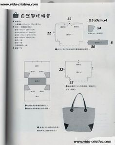 Disegno per realizzare una bella borsa....               ...