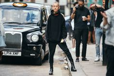 Street Style Shots: London Fashion Week Men's Day 1