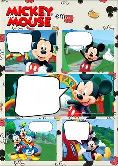 Invitación Mickey para cumpleaños