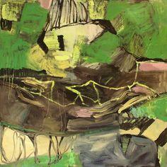 """ Toten landschaft "" Bjørnar Aaslund, oil on canvas, 125 x 125 cm"