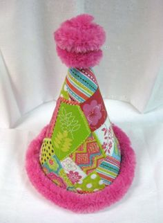 Hot pink and luscious lime..... by Lisa on Etsy