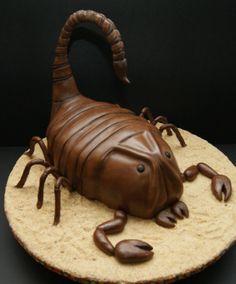 3D Scorpion Cake -