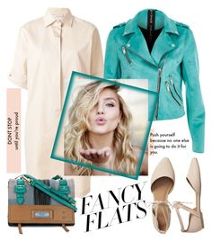 """""""Fancy Flats"""" by laurabosch on Polyvore featuring MaxMara, Prada, Gap and chicflats"""