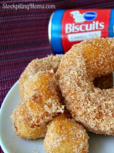Homemade Doughnuts are so yummy and easy to make.  Perfect for back to school breakfast!