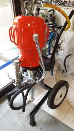 Pompa airless alta pressione 63:1