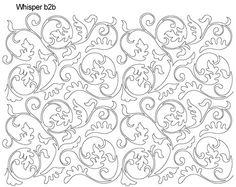 AnneBright.com - Shop   Category: Digitized Designs   Product: Whisper b2b Swirling Leaves - Elegant!