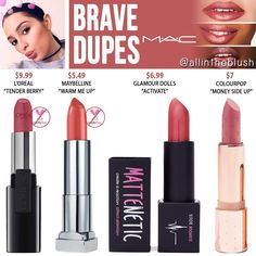 BRAVE DUPES from MAC Cosmetics