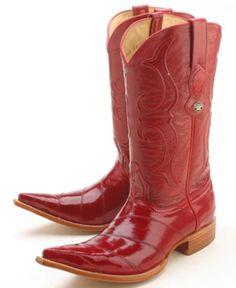 3e5daccf1e Anguila Altos Los Rojos Añejos Elegantes que Montan a caballo Clásicos de  Vaquero de Botas Occidentales