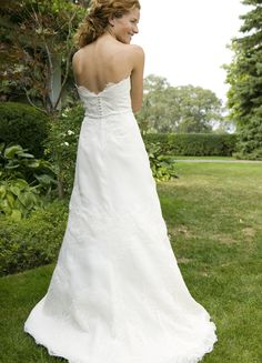 Lea Ann Belter Bridal - Niagara Collection - Stella  (BACK)  Tried on and loved at Lovely Bridal