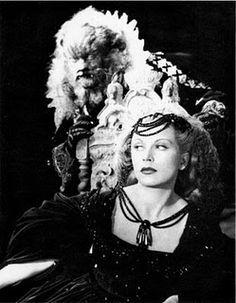 La Belle et la Bête or Beauty and the Beast, 1946, film by Jean Cocteau, starring Josette Day and Jean Marais