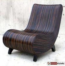 Lounge sessel kunstleder braun  Formschöner Club-Sessel, Lounge-Sessel, Sessel f. Wohnzimmer ...