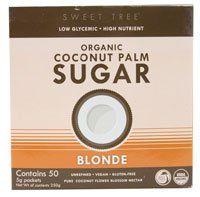Big Tree Farms Organic Coconut Palm Sugar Blonde -- 50 Packets - http://mygourmetgifts.com/big-tree-farms-organic-coconut-palm-sugar-blonde-50-packets/