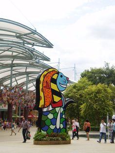 Merlion at Resorts World Sentosa http://liliansg.hubpages.com/hub/Sentosa-Singapore