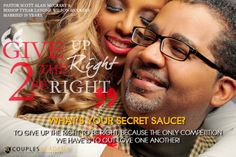 COUPLES ACADEMY ASKS, WHAT IS YOUR SECRET SAUCE? Love One Another, Love And Marriage, 20 Years, Competition, The Secret, Relationship, Couples, Pastor, Love Each Other