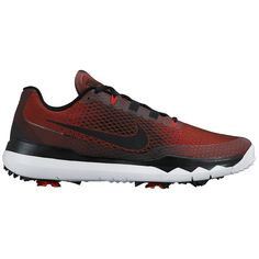 Nike Men s TW15 Golf Shoes - University Red Black Gym Red White - 5fce0adef