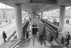Unglück bei Wipkingen, umgekippter Gelenkwagen Trains, Train