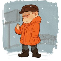 Oh, heck. (by inchells) FARGO FAN ART. SEND HELP I AM SO EXCITED