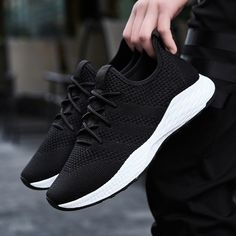 59803d8e2 Breathable Men Sneakers Male Shoes Adult Red Black Gray High Quality  Comfortable