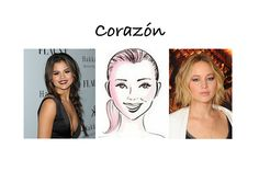 El look ideal para tu rostro #corazon