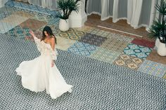 Emie Top + Kyle Skirt  #noelandjean #bykatiemay #entrenouscollection #bohobride #bridal #fashion Photography by Nicole Hill @nicollhill_ , Model: Karina Nicholson @kaarines www.noelandjean.com
