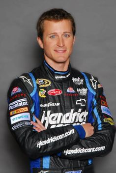Kasey, You're my little fantasy racecar driving husband :) win me a championship!  Sincerely,  Your wife you have never met!