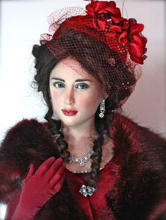 Anna Karenina One of a kind sculpted by Jamie Williamson