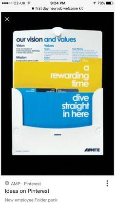 New employee welcome packet Employee Handbook, New Employee, Direct Mail Design, Welcome Packet, Collateral Design, Employer Branding, Folder Design, Presentation Folder, Envelope Design