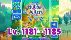 Bubble Witch Saga 2 Level 1181 - 1185 (1080p/60fps)