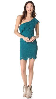 a3c0872d63 Bridesmaids- Nightcap Clothing One Shoulder Dress One Shoulder