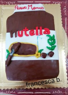 Nutellona cake