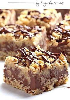 No-Bake Chocolate Oatmeal Bars - https://homechanneltv.blogspot.com/2017/08/foodie-friday-no-bake-desserts.html
