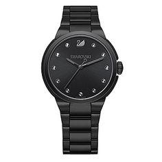 Swarovski City Black Bracelet Watch