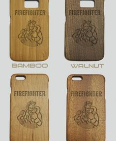 http://woodcases.co/product/firefighter-engraved-wood-phone-case/