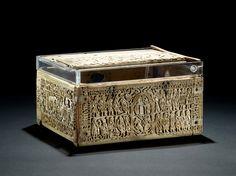 The Franks Casket, English, 8th century