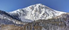Jupiter Peak at Park City Mountain Resort on 11/12/12. Spectacular early season snow in Utah!