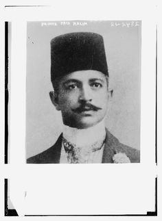 Grand Vizier of the Ottoman Empire from 1913 to 1916.