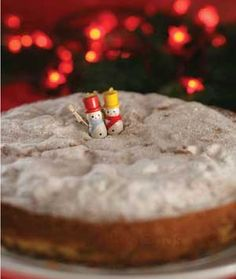 At New Year's for good luck, Greeks make Vasilopita, which can be a sweet bread, cake, or even meat pie. Regardless of the recipes, a coin is always inserted and whoever gets it in their piece will have good luck for the next year.