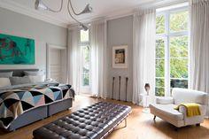Hôtel particulier du XVIIIe à Paris © Vincent Leroux (AD n° 123, avril-mai 2014)
