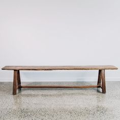 XL Recycled Teak Bench (with bar)