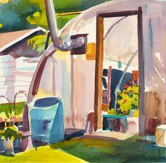 Greenhouse in Cabot - Susan Abbott