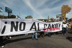 The Progressive Mile: In Nicaragua, Protesters Vow to Fight Giant Canal ...
