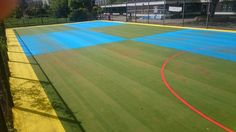 Many schools and clubs in the UK have Multisport synthetic surfacing installed…