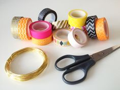 Veren van Masking Tape Style of Elle | DIY Crafts Masking Tape Washi tape | Style of Elle