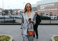 How to Do Chic Shirting and Suiting Like the Street Style Stars of Milan