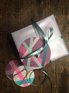 DIY Masking Tape decorations