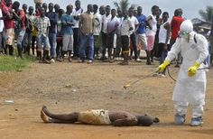 An Ebola Victim on the streets of West Africa coming to Obama's America