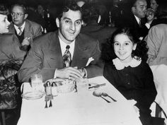 Danny Thomas and his daughter, Marlo before she became the woman carrying on her father's legacy