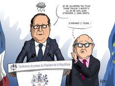 Magnifique RT @MonsieurKak: #humour L'agence Moody's dégrade la note de la France #dessin