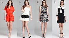 Dresses and Skirts for Rectangle-shaped women